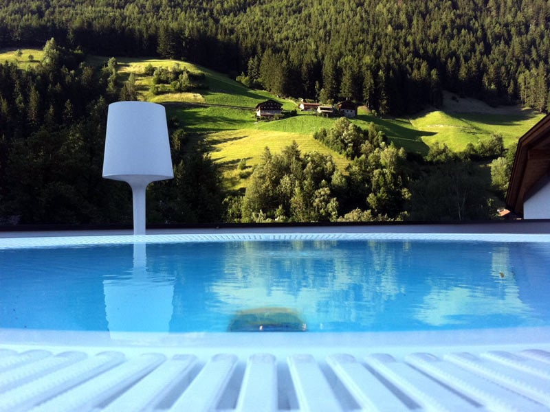 Una terrazza in valle aurina hotel 4 stelle in montagna - Hotel valle aurina con piscina ...